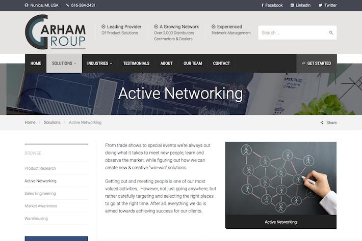Garham Group 2 Info page
