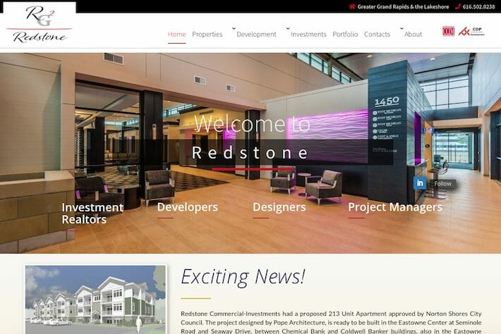 Redstone Group 1 Home page