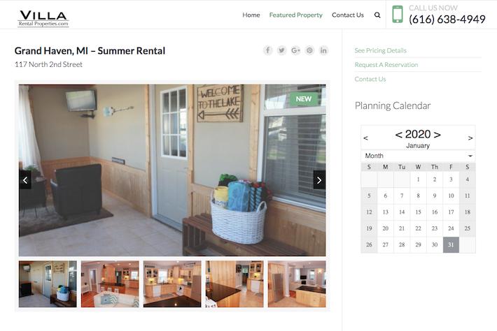 Villa Rental Properties 2 Featured Property